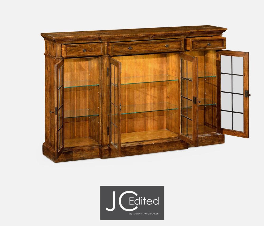 Jonathan Charles - Four Door China Display Cabinet