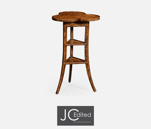 Thumbnail of Jonathan Charles - Plank Walnut Trefoil Side Table