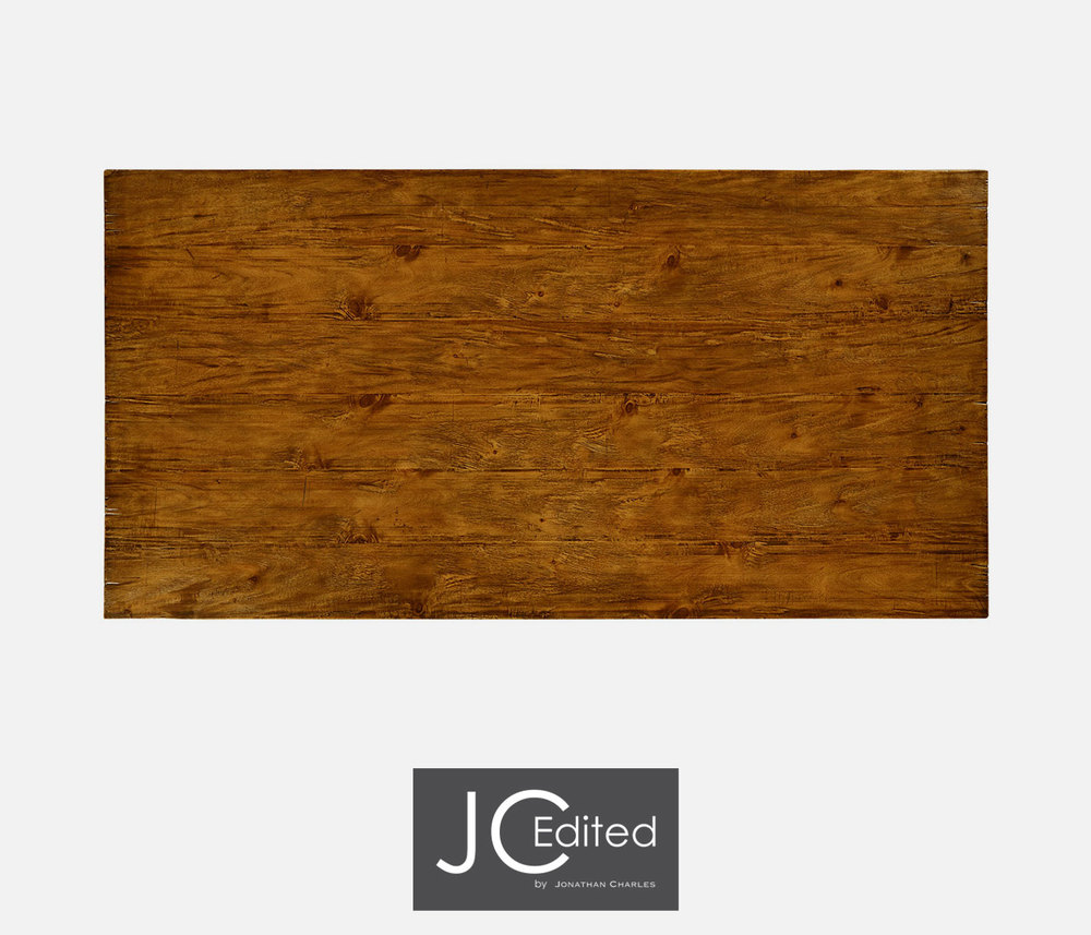 Jonathan Charles - Solid Country Walnut Dining Table