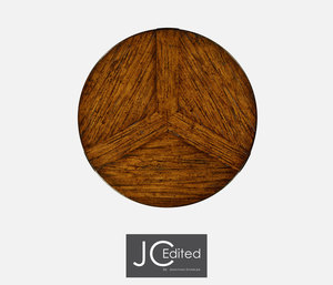 Thumbnail of Jonathan Charles - Country Walnut Rustic Lamp Table