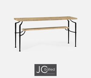 Thumbnail of Jonathan Charles - Rectangular Console Table with Iron Base