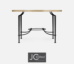 Thumbnail of Jonathan Charles - Round Center Table with Iron Base