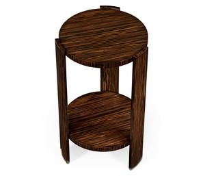 Thumbnail of Jonathan Charles - Art Deco Style Macassar Lamp Table