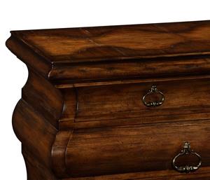 Thumbnail of Jonathan Charles - Large Rectangular Rustic Walnut Chest of Drawers