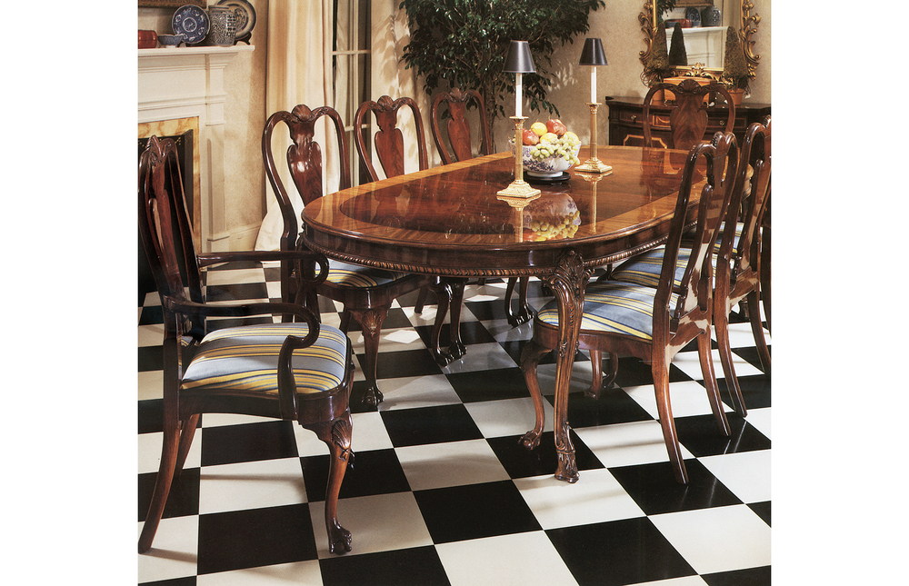 Karges Furniture - Queen Anne Side Chair