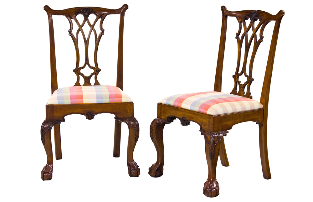 Karges Furniture - American Chippendale Side Chair