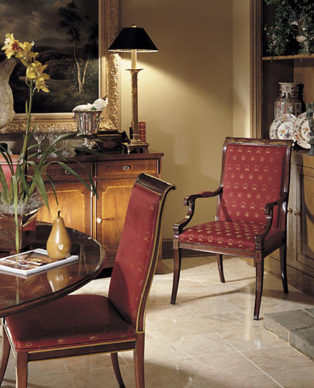 Karges Furniture - Regency Arm Chair