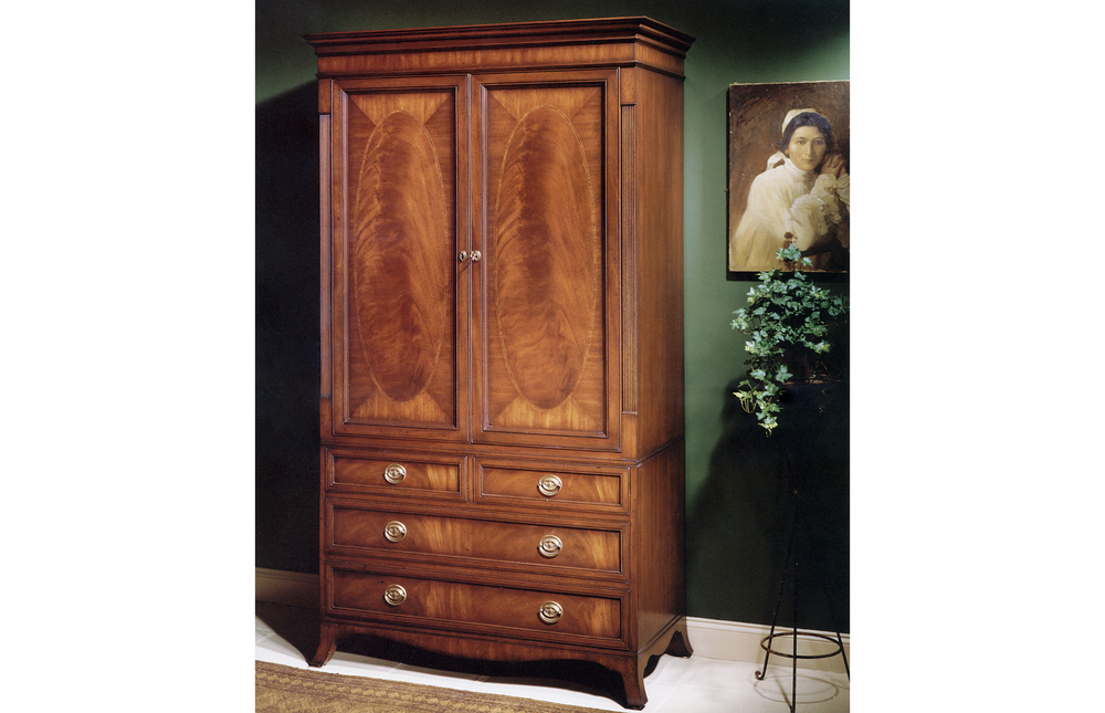 Karges Furniture - 18th Century American Linen Press