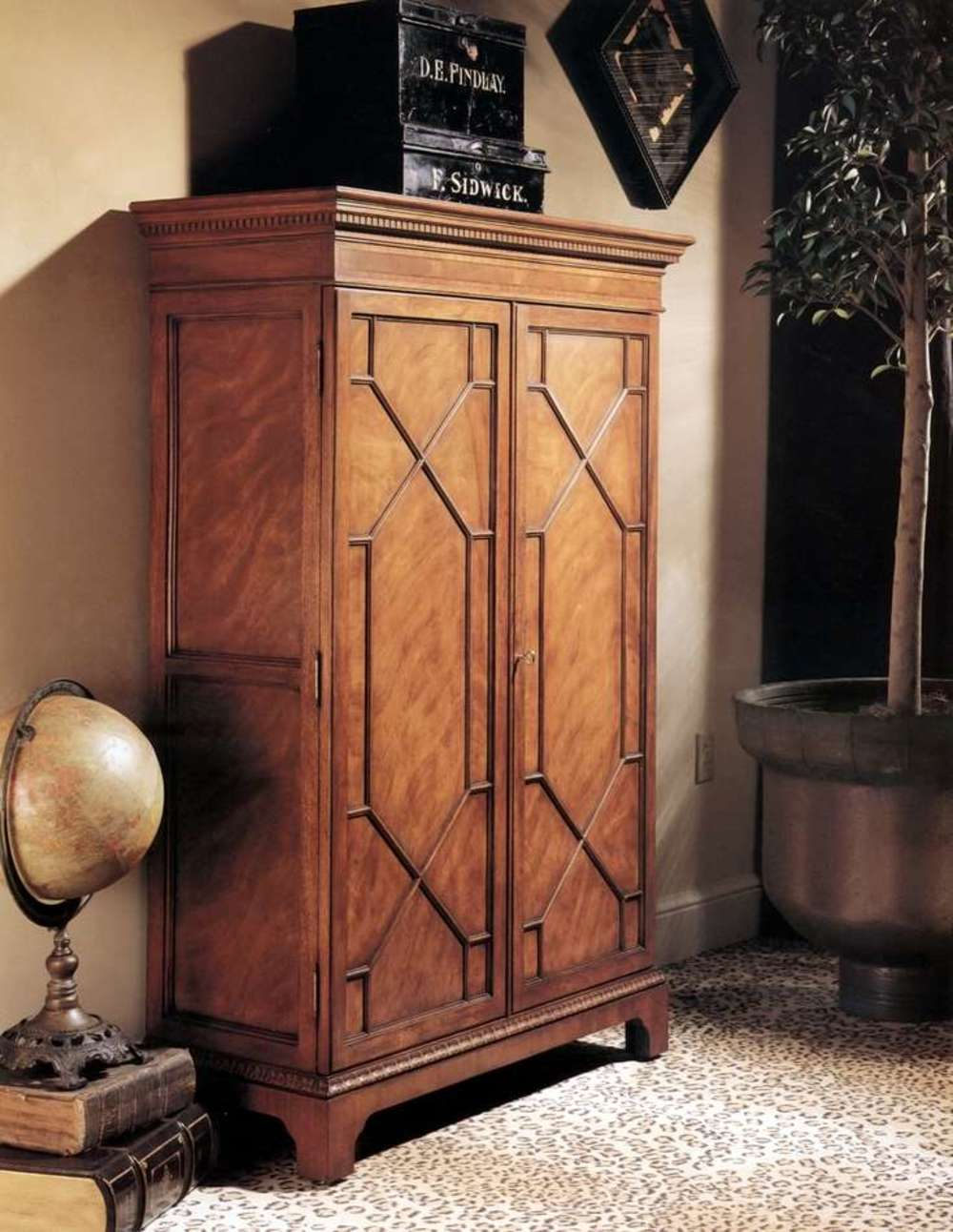 Karges Furniture - American Chippendale Petite Bookcase