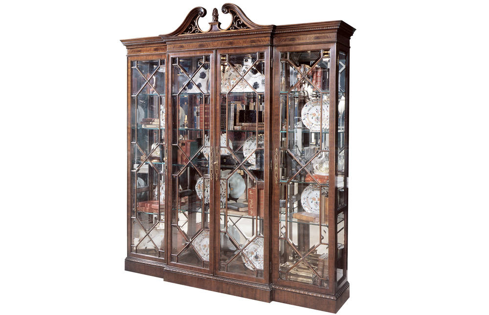 Karges Furniture - 18th Century American Chippendale Grand Curio