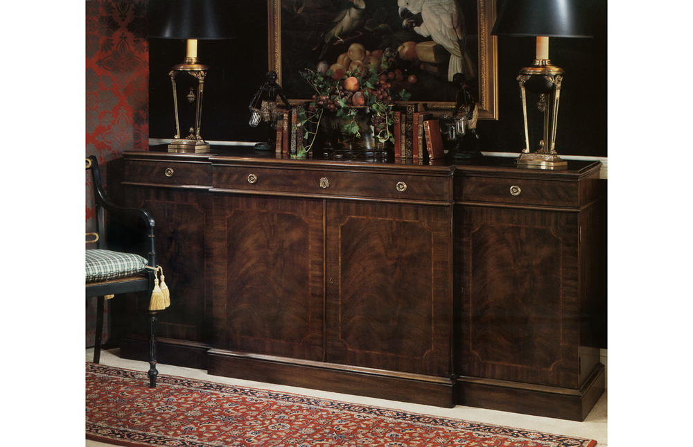 Karges Furniture - 18th Century American Chippendale Buffet