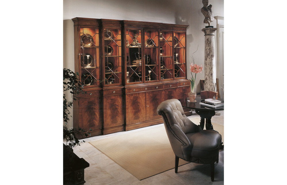 Karges Furniture - Chippendale Grand Breakfront