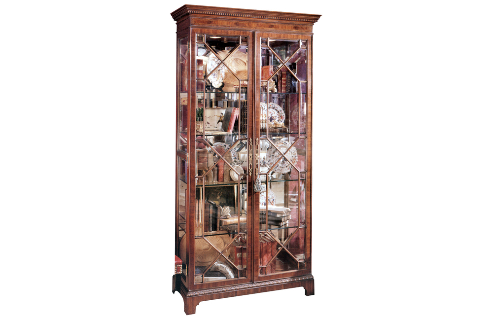 Karges Furniture - 18th Century American Chippendale Curio