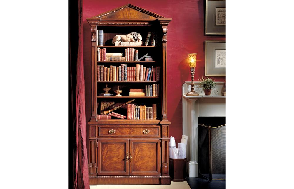 Karges Furniture - Georgian Mahogany Bookcase
