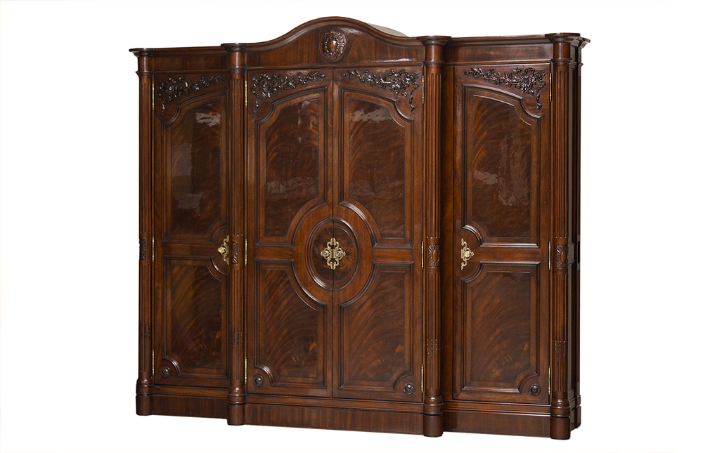 Karges Furniture - Louis XVI Grand Armoire