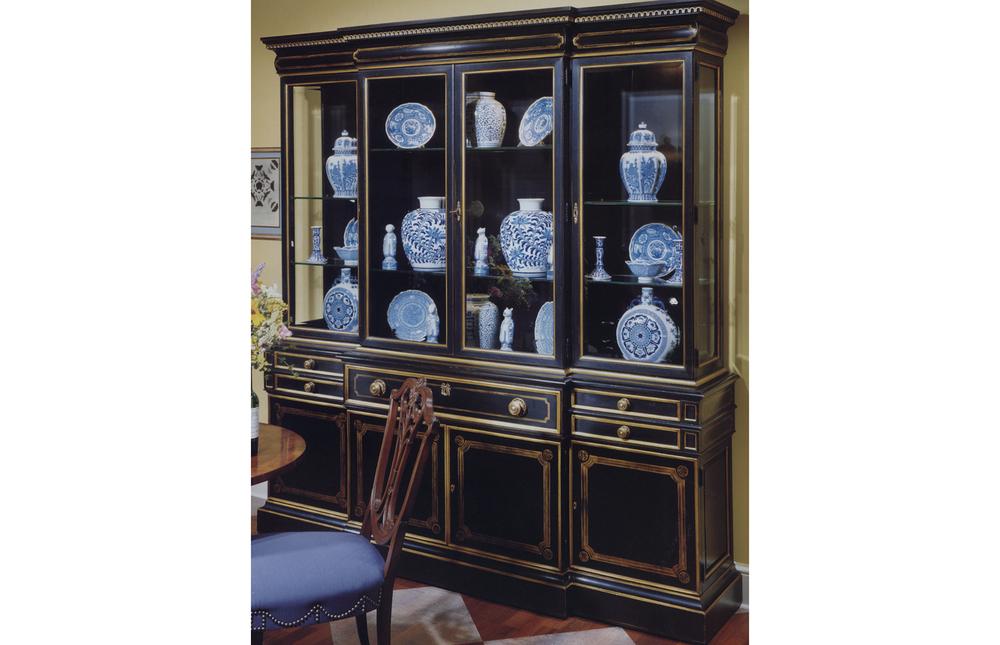 Karges Furniture - Louis XVI Breakfront