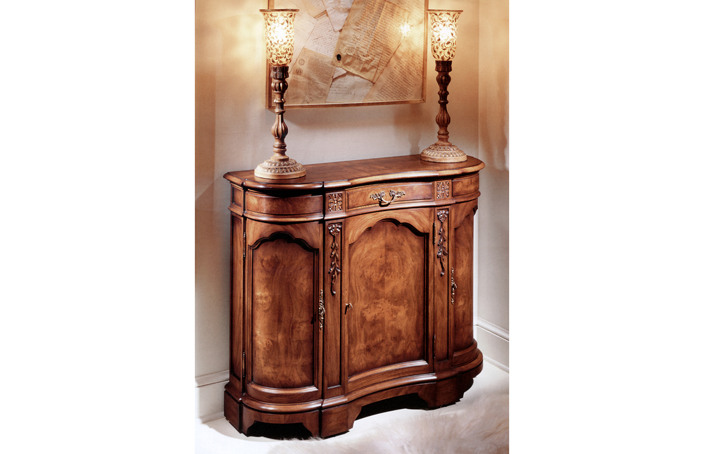 Karges Furniture - Chippendale Hall Commode
