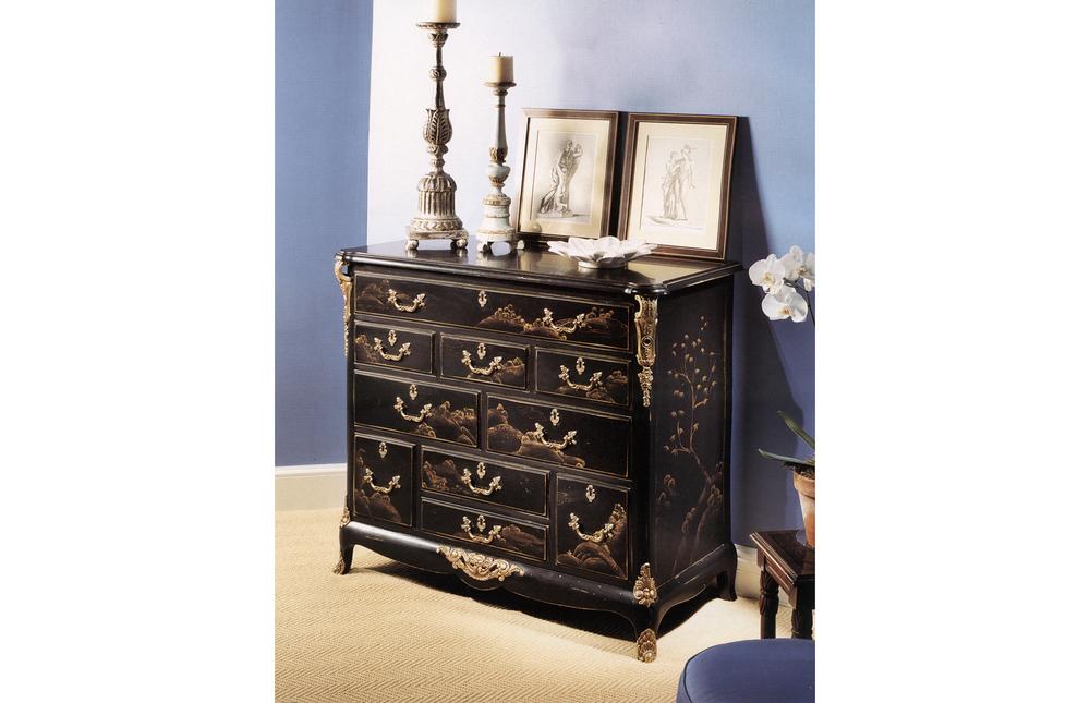 Karges Furniture - French Regence Bachelor's Chest