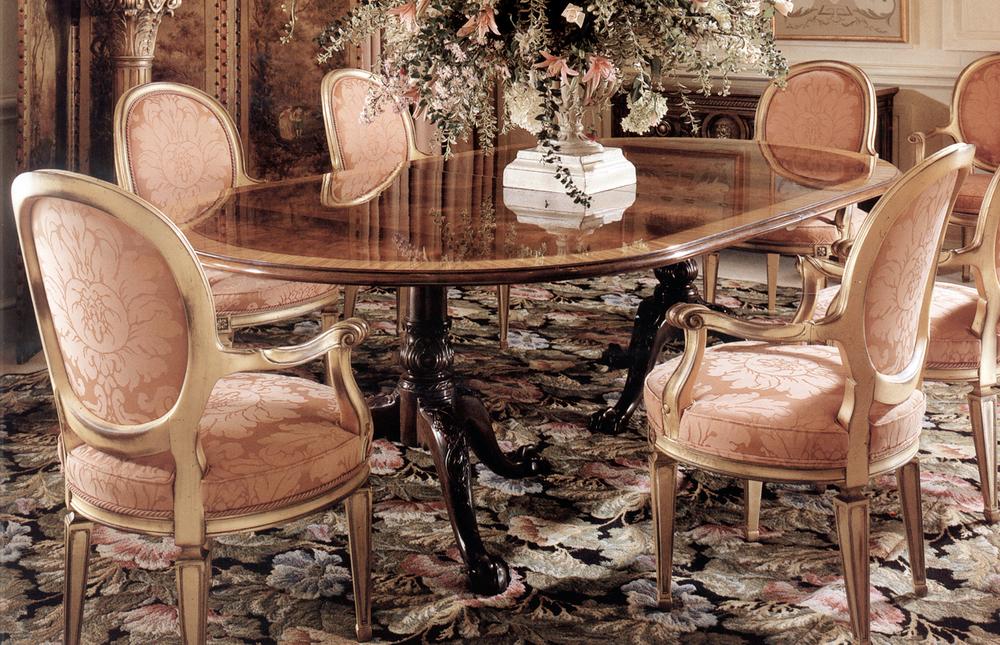 Karges Furniture - Louis XVI Arm Chair