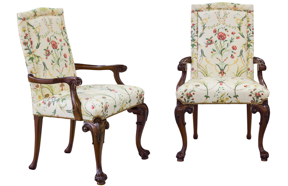 Karges Furniture - Chippendale Arm Chair