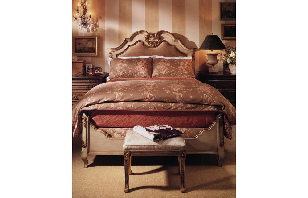 Karges Furniture - French Regence Bed