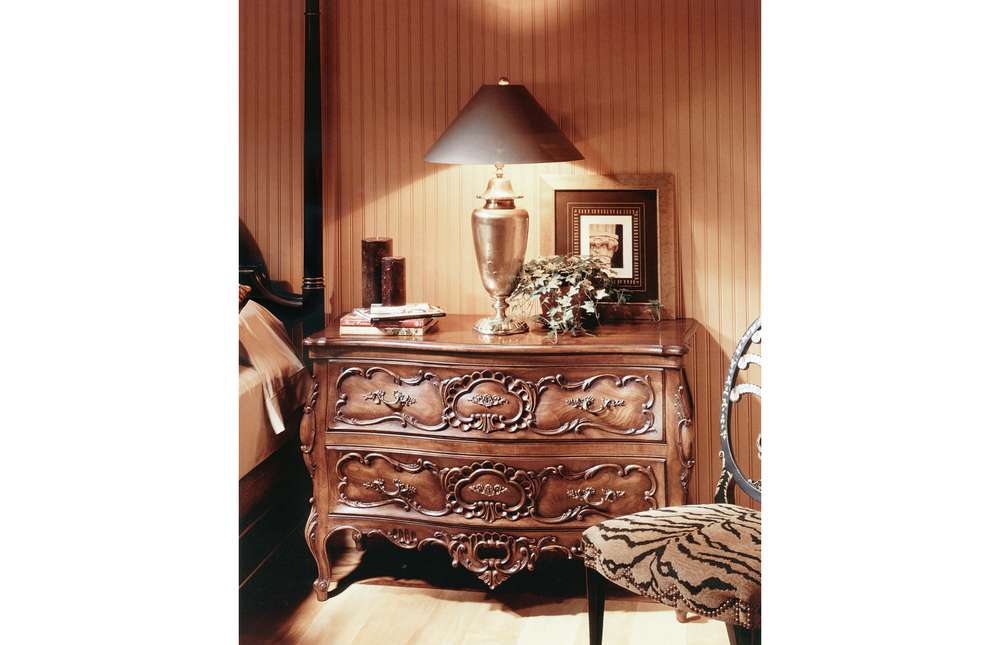 Karges Furniture - Louis XV Bombe Chest