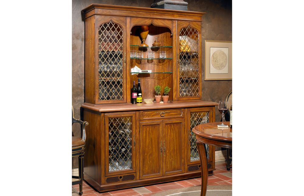 Karges Furniture - Country English Beverage Closet