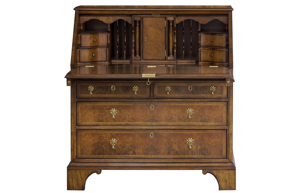 Karges Furniture - Queen Anne Bureau Cabinet Base