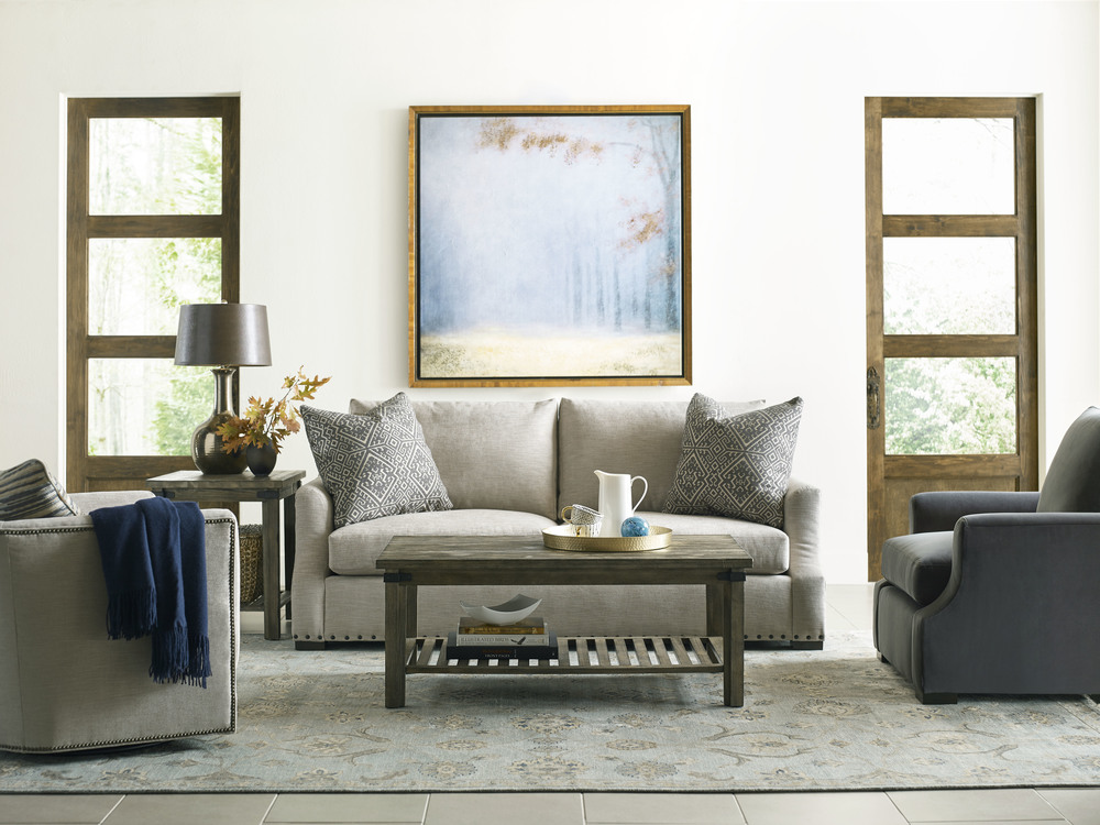 Kincaid Furniture - Barrel Swivel Glider