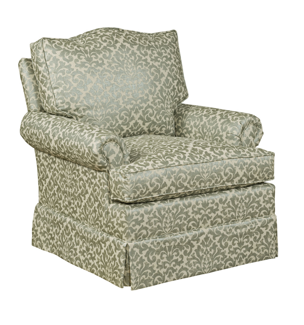 Kincaid Furniture - Clairmont Swivel Rocker