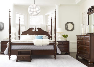 Thumbnail of Kincaid Furniture - Rice Carved Bed