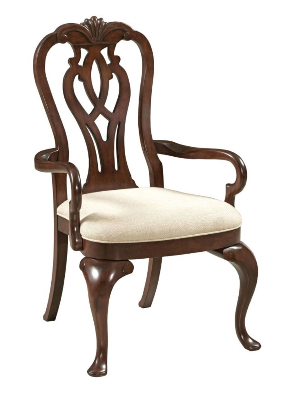 KINCAID FURNITURE CO, INC - Queen Anne Arm Chair