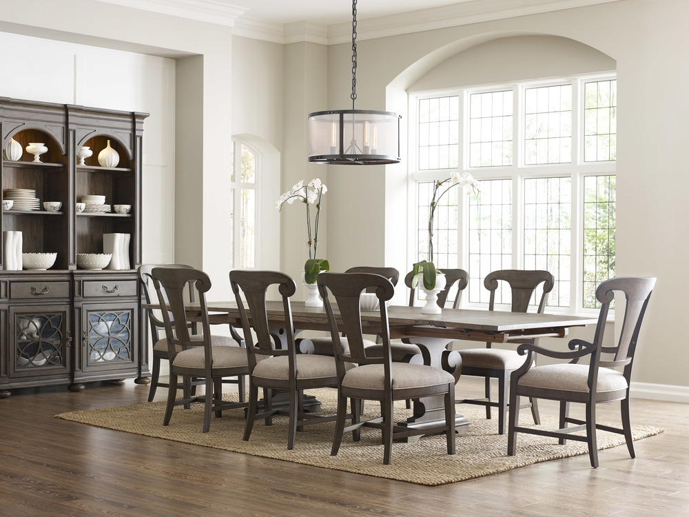 Kincaid Furniture - Fulton Splat Back Arm Chair