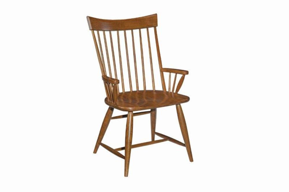 Kincaid Furniture - Arm Chair, Wood Seat