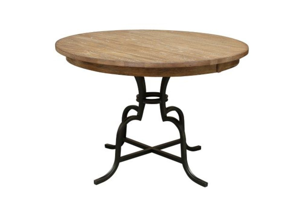 Kincaid Furniture - Round Counter Height Table w/ Metal Base