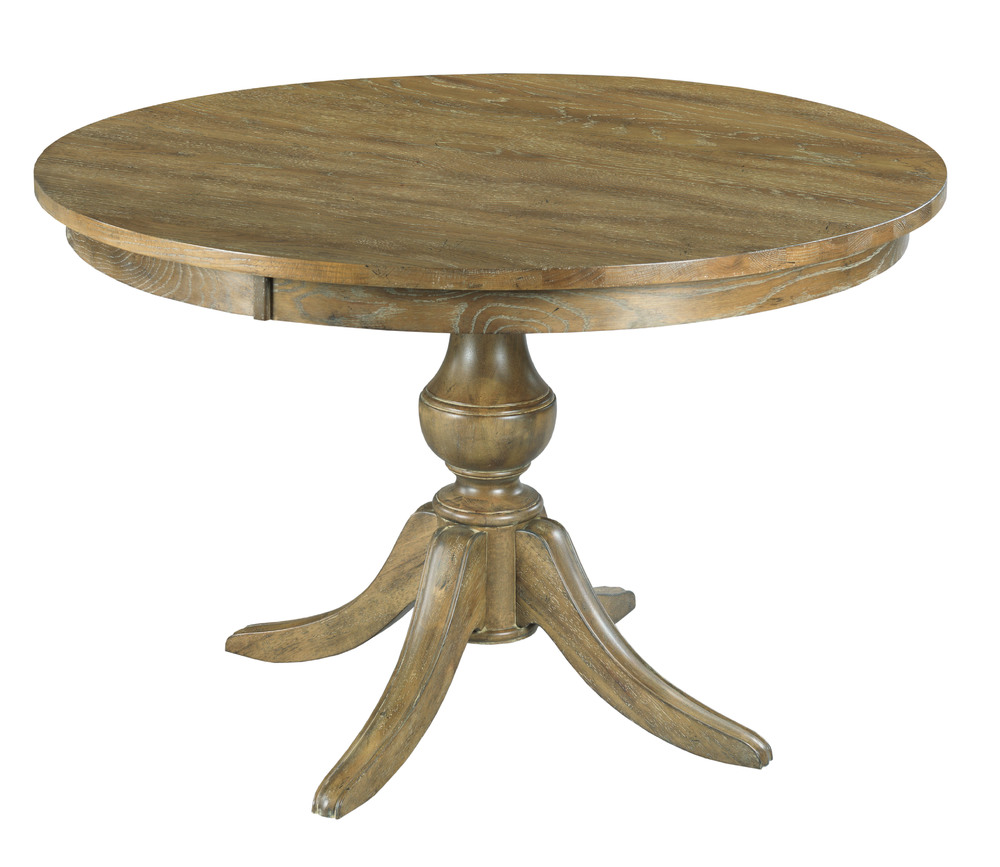Kincaid Furniture - Round Dining Table with Wood Base