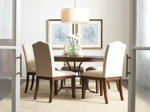Thumbnail of Kincaid Furniture - Round Dining Table with Metal Base