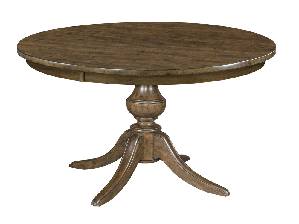 Kincaid Furniture - Round Dining Table w/ Wood Base