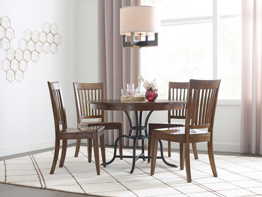 Kincaid Furniture - Wood Seat Side Chair