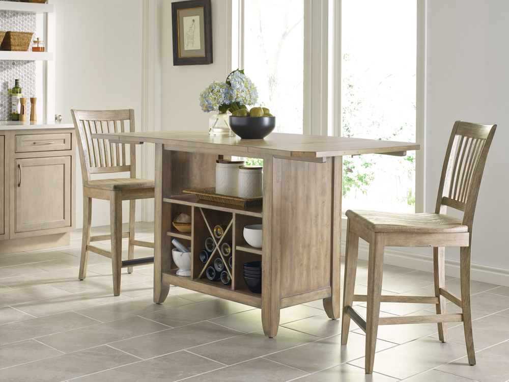 Kincaid Furniture - Counter Height Slat Back Chair