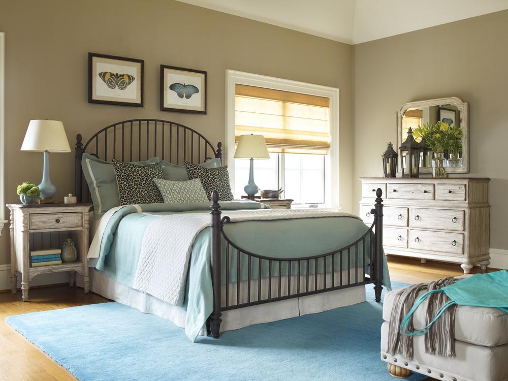 Kincaid Furniture - Catlins Metal Bed