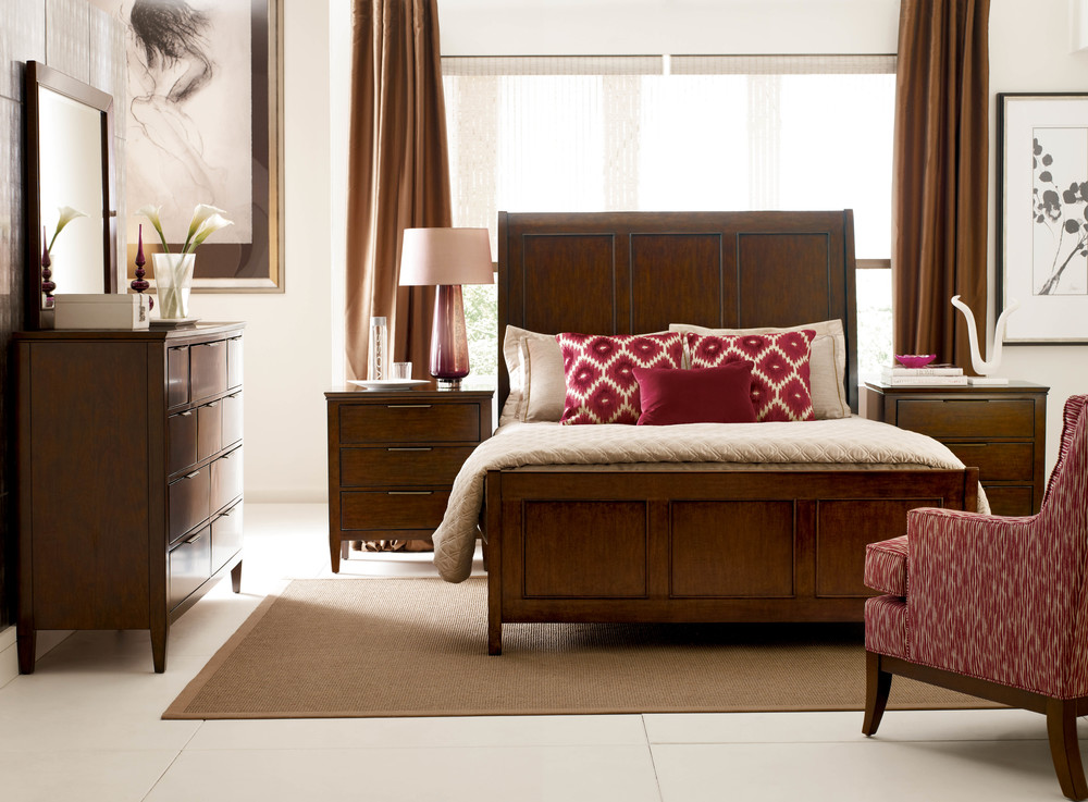 Kincaid Furniture - Caris Sleigh Bed