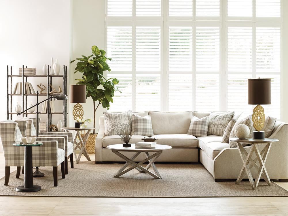 Kincaid Furniture - Colton Round Lamp Table