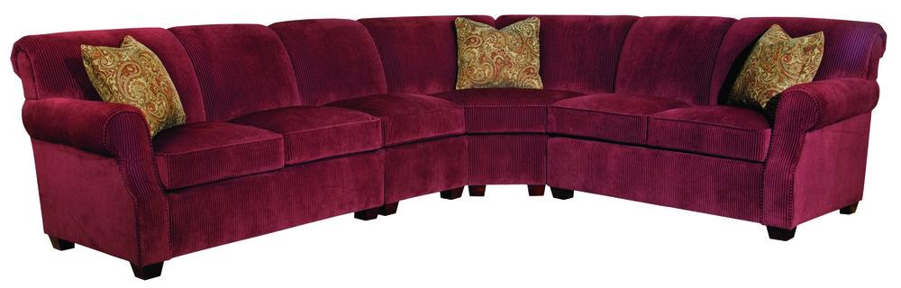 Kincaid Furniture - Lynchburg 4 Piece Sectional