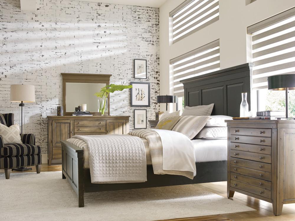 Kincaid Furniture - Mason Wood Anvil Panel Bed