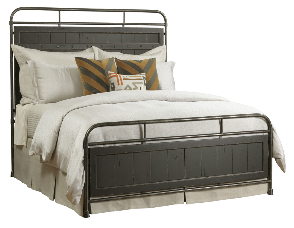 Kincaid Furniture - Folsom Anvil Metal Bed