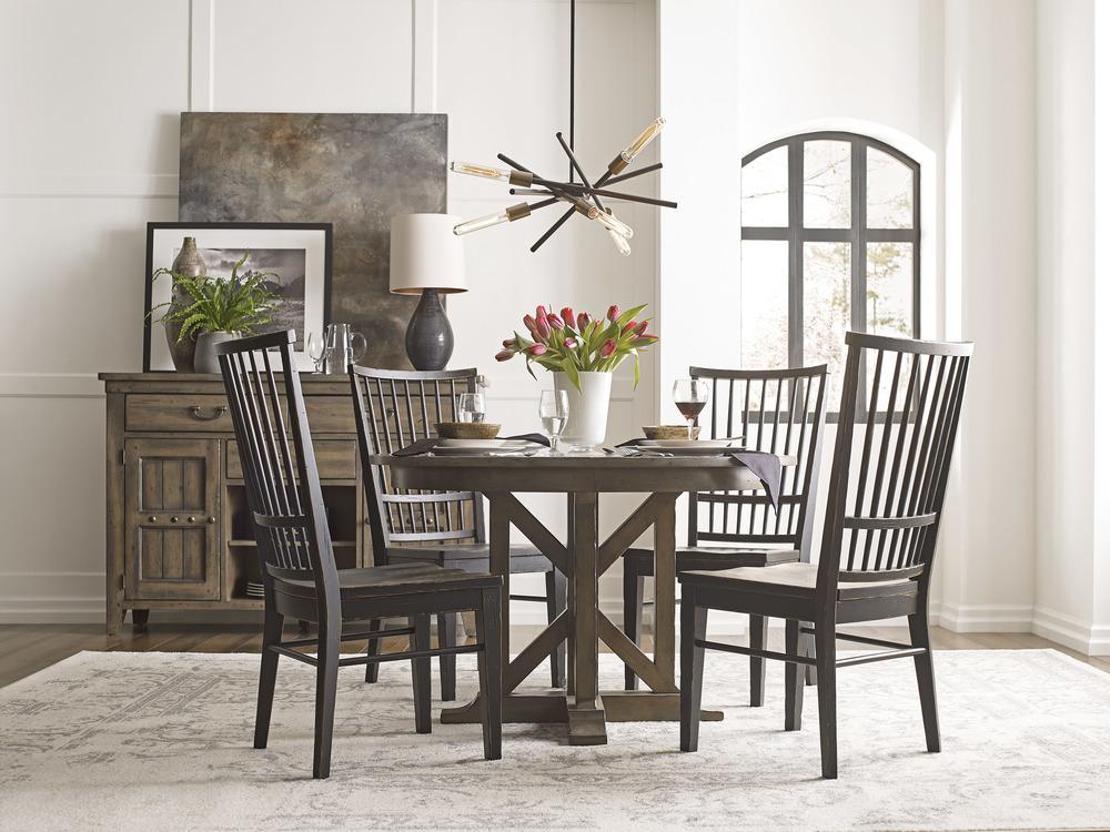 Kincaid Furniture - Cooper Side Chair, Anvil
