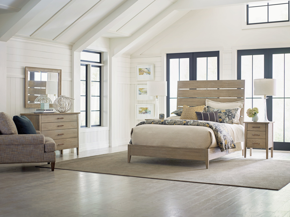 Kincaid Furniture - Incline Oak Bed with Low Footboard