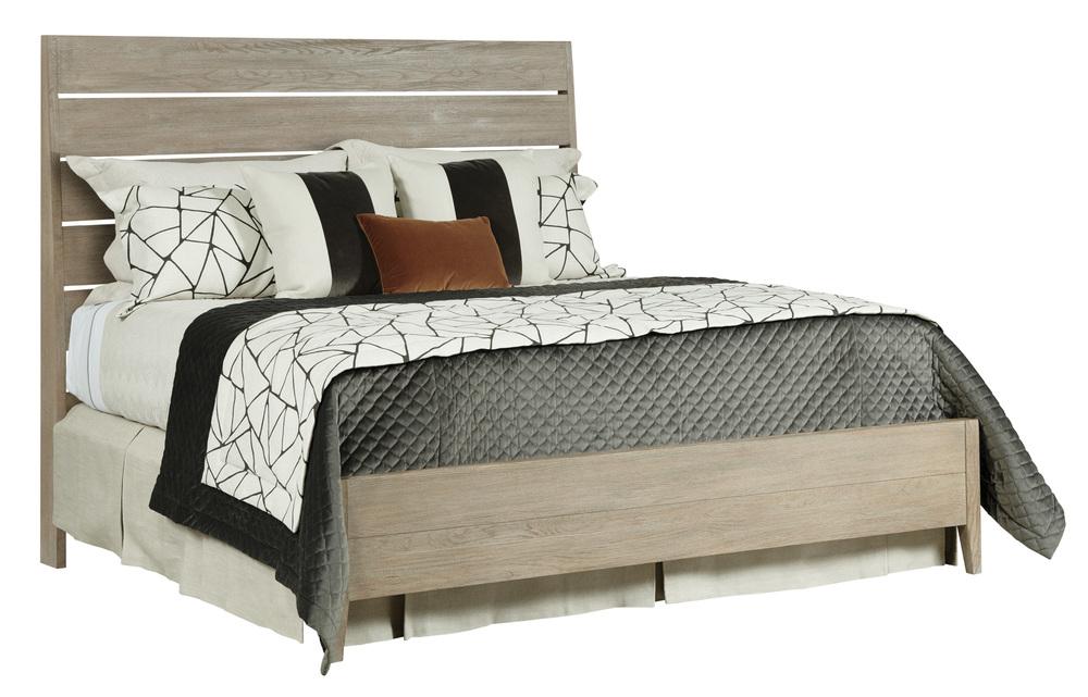 Kincaid Furniture - Incline Oak California Bed with Medium Footboard