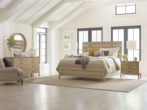 Thumbnail of Kincaid Furniture - Incline Oak Bed with High Footboard